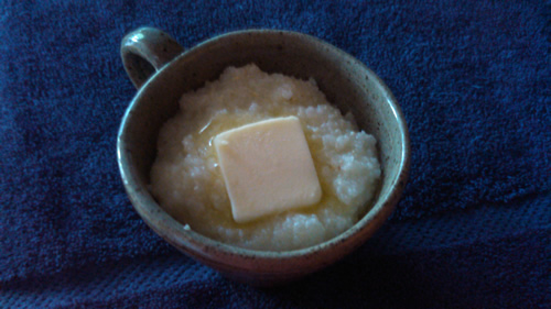 grits and butter