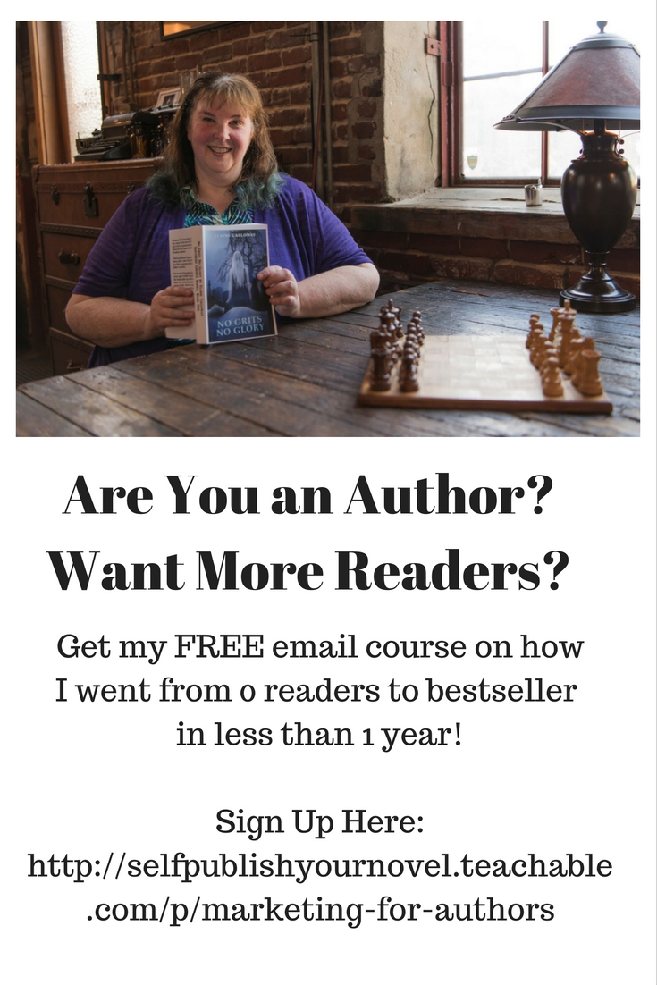 Elaine Calloway asking Do you want more readers?