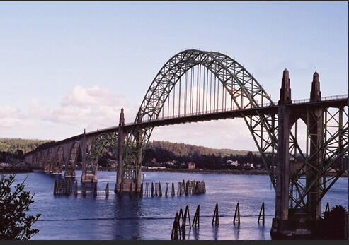 Yaquina Bay Bridge, Oregon